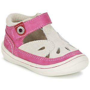 Kickers Zela, Chaussures Bébé Marche bébé fille, Rose (Fuchsia/Beige), 20 EU