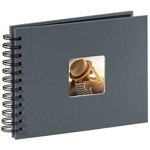 Hama Fine Art Spiral grey 24x17 50 black Pages 94884