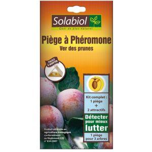 Solabiol Piège à phéromone : Ver des prunes - 2 pièges