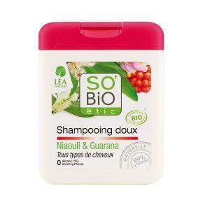 So'Bio Étic Niaouli & Guarana - Shampooing doux tous types de cheveux