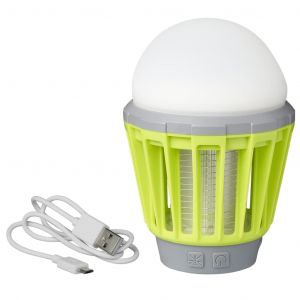 ProPlus Lampe de camping et anti-insecte rechargeable