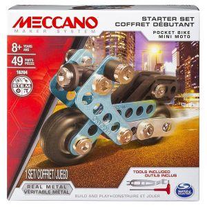 Meccano Coffret débutant Mini moto