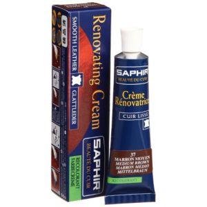 Saphir Crème rénovatrice Avel - Tube 15 ml - Marron moyen