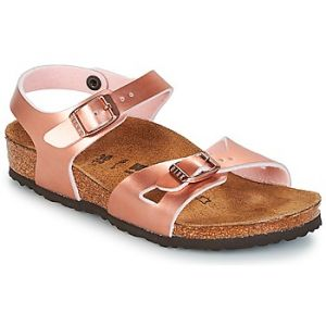 Image de Birkenstock Rio, Sandales Bride Arriere Filles, Rose (Soft Metallic Rose Gold Soft Metallic Rose Gold), 34 EU