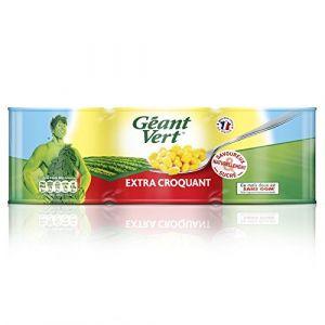 Géant vert Maïs Ultra Croquant 3 Boîtes x 150 g
