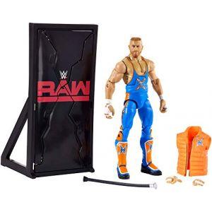 WWE Figurine Elite Curt Hawkins - 17 CM - Figurine Articulée Superstar Catch - Accessoires Inclus