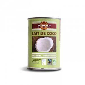 Alter Eco Lait de coco du Sri Lanka bio et équitable (400ml)