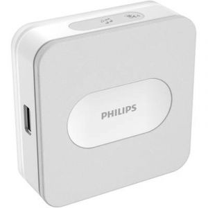 Image de Philips Set complet pour Sonnette sans fil 531015 300 m blanc, gris