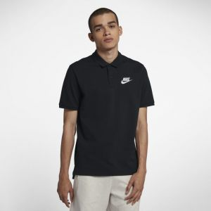 Nike Polo Sportswear pour Homme - Noir - Taille L - Homme