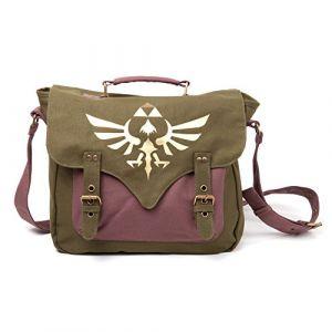 Nintendo Sacs - The Legend of Zelda sac à bandoulière Golden Triforce--Bioworld