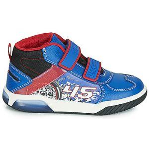 Geox Chaussures enfant J INEK BOY bleu - Taille 28,29,30,31,32,33,34,35