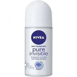 Nivea Pure Invisible - Déodorant anti-transpirant 48h - 50 ml