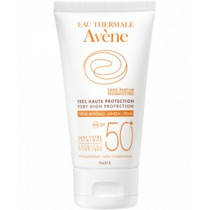 Avène Crème minérale Solaire très haute protection SPF 50+