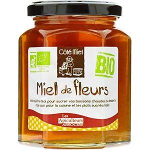 Les apiculteurs associés Miel de Fleurs Biologique 375 g