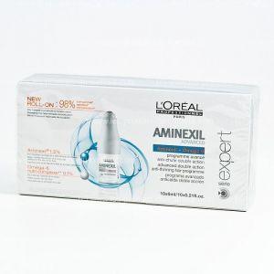 L'Oréal Aminexil Advanced programme anti-chute des cheveux 10 x 6 ml