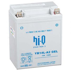 Hi-Q Batterie YB14L-A2 AGM fermé sans entretien