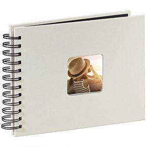 Hama Fine Art Spiral kreide 24x17 50 schwarze Seiten 2107