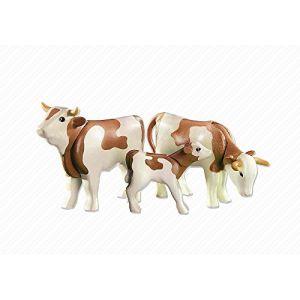 Playmobil 6356 - Deux vaches avec un veau