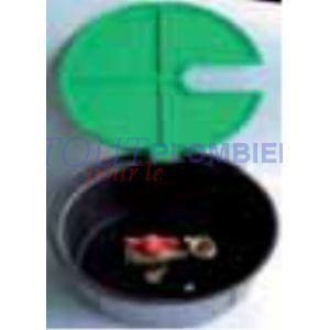 Image de sferaco Bouche d'arrosage en plastique - M 1' - F 3/4' -