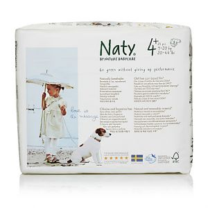 Eco by Naty 24 Couches éco Taille 4+ - 9/20kg