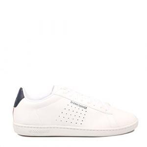 Le Coq Sportif Courtset Sport BLC h - Chaussures Basses Cuir ou Simili - Blanc - Taille 46