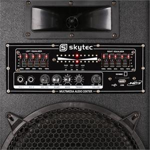 Electronic-Star STAR-12 - Chaîne karaoké enceintes PA micro sans fil 1200W