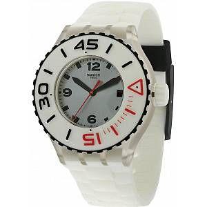 Swatch Mixte Analogique Montre avec Bracelet en Silicone SUUK401