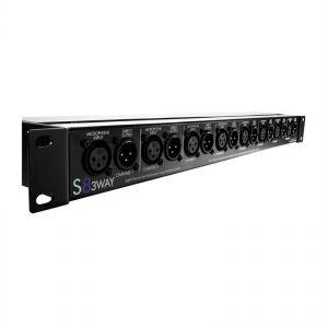 Art S8 3-WAY - Audio splitter mic splitter