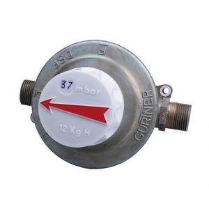 """Gurtner Détendeur sécurité propane 8kg/h Mâle G3/4"""" 37mbar"""