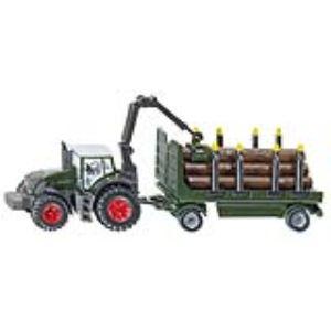 Siku 1861 - Tracteur Fendt avec remorque forestière - Echelle 1:87