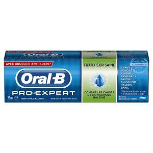 Oral-B Pro-Expert Fraîcheur Saine - Dentifrice  à la menthe fraîcheur extrême