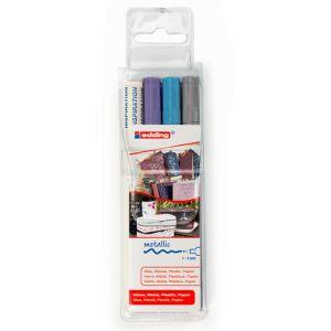 Edding Lot de marqueurs peinture (053/074/079) + cahier d'inspiration