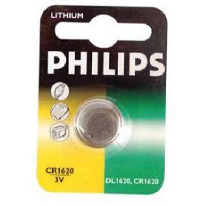 Philips 1 pile bouton 3V CR1620 Lithium