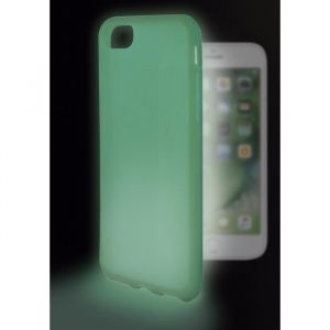 KSIX Coque de protection brillant Sense Lumen pour Iphone 7 Vert - Coque de protection amusante illuminant - Antidérapant: améliore la prise de votre appareil - Protection contre les rayures et anti-poussière - Accès aux connecteurs et caméras de votre sm