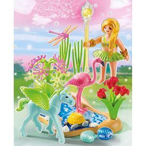 Playmobil 5352 Princess - Fée du soleil avec poulain ailé