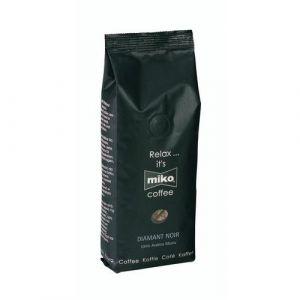 Miko Paquet de 1k g café moulu diamant 100% arabica