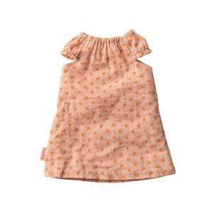 Maileg Nightgown, size 2 - rose - taille : 0 cm