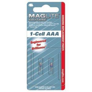Maglite Lot de 2 ampoules 1-Cell AAA - Ampoule