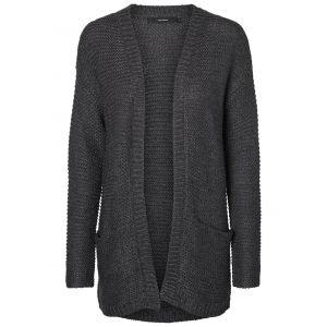 Vero Moda Chandails Vero-moda No Name L/s - Dark Grey Melange - S