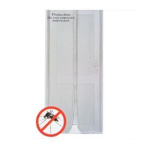 Rideau de porte moustiquaire aimanté (100 x 220 cm)