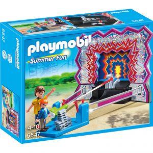 Playmobil 5547 Summer Fun - Stand de Chamboule-tout