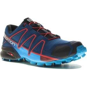 Image de Salomon Speedcross 4 - Chaussures à Randonnée - Homme - Bleu - 41 1/3 EU