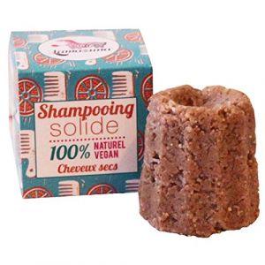 Lamazuna Shampoing solide pour cheveux secs Orange douce