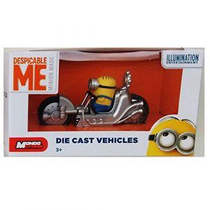 Minions Despicable Me - Minion Stuart In Dragster Ech.1/43 * 7 à 8 cm