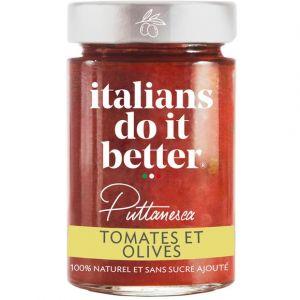 Italians do it better puttanesca tomates et olives