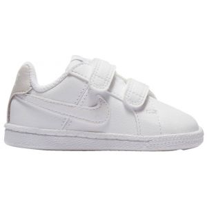 Nike Baskets enfant Chaussure bébé fille Court Royale TDV blanc - Taille 22,23 1/2