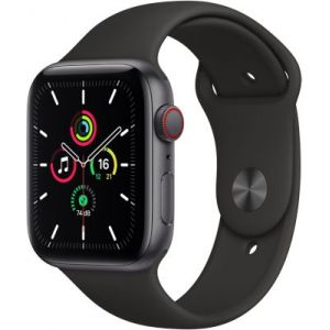 Apple Accessoire Watch SE 44MM Alu Gris/Noir Cellular