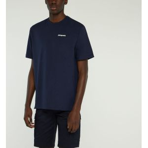 Patagonia T shirt manches courtes p 6 logo responsibili tee bleu homme l