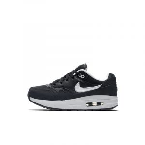 Nike Baskets Chaussure Air Max 1 pour Jeune enfant - Noir Taille 30