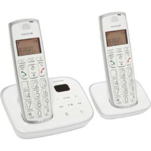 EssentielB Confort 15.2 - Téléphone sans fil avec répondeur 2 combinés